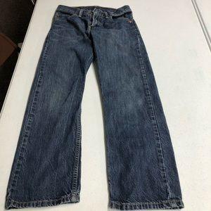 Levis 505 26x26 Boys Jeans or size 12 regular